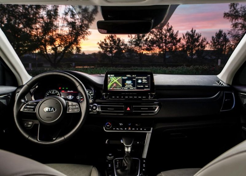 2021 Kia Seltos Interior Dashboard & Features
