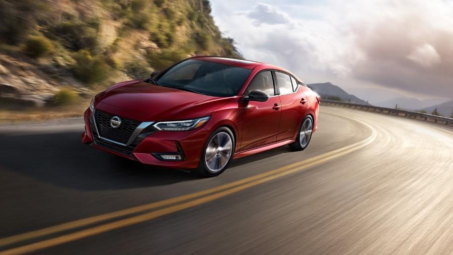 2021 Nissan Sentra Nismo Red Color With V-Shape Grille