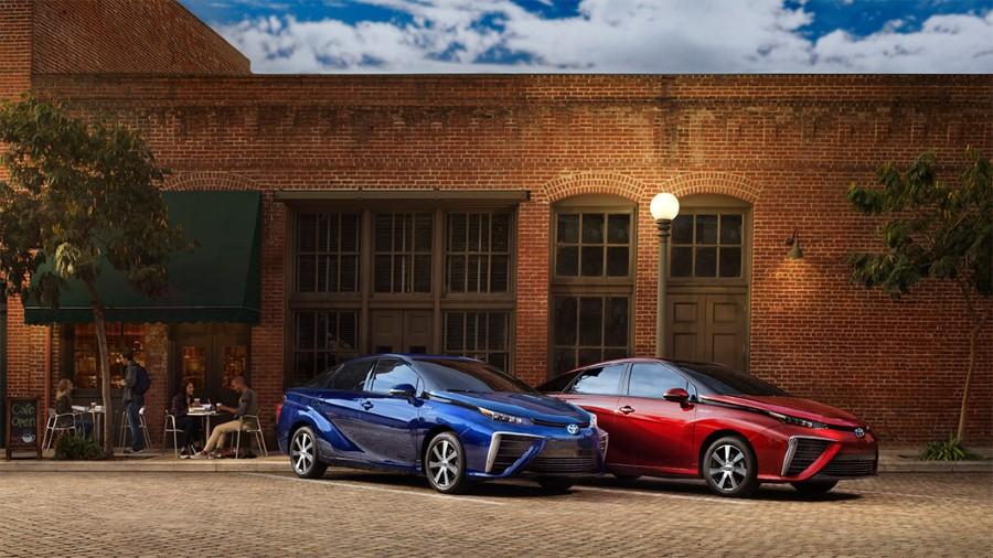 2021 Toyota Mirai Color Availability