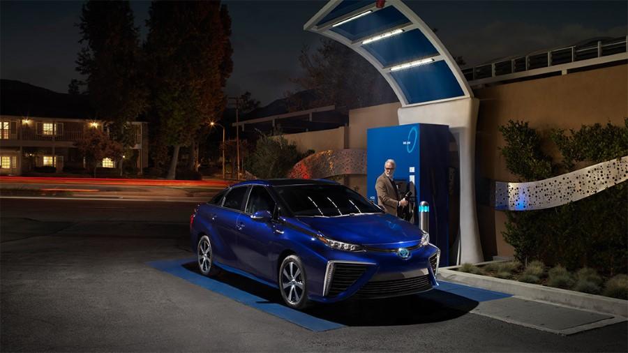 2021 Toyota Mirai Hydrogen Fuel Cell Consumptions