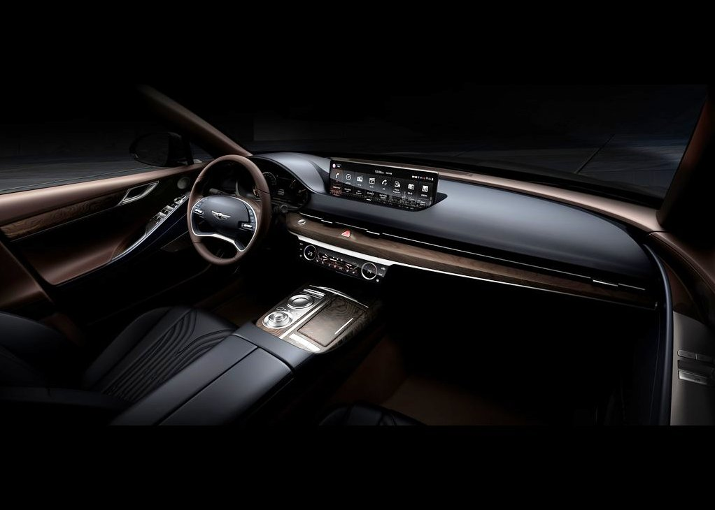 New Genesis G80 Interior Concept
