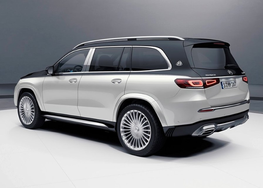 2021 Mercedes Maybach GLS 600 White Colors
