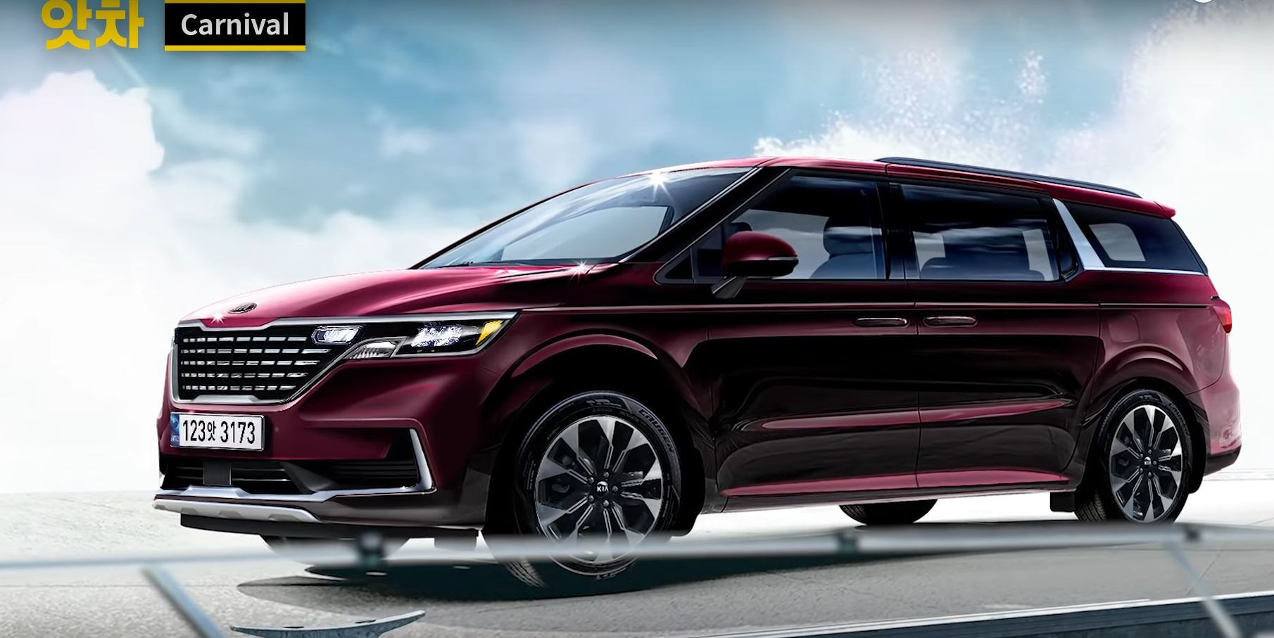 All New Kia Sedona 2021 Rendering Images