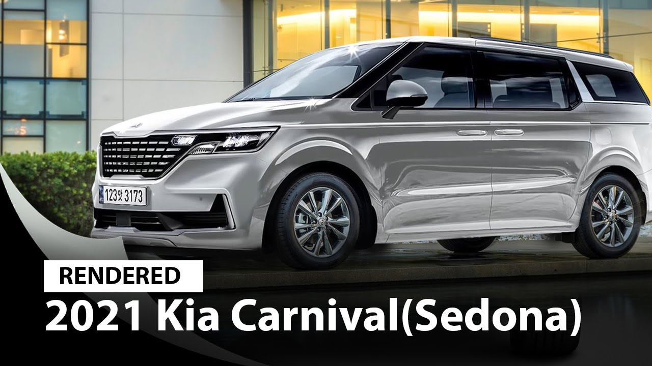 Kia Sedona 2021 Rendering Images