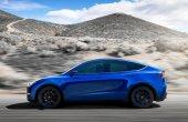 New Tesla Model Y Battery range