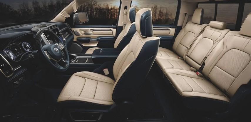 2021 RAM 1500 LARAMIE Quad Cab Passenger Capacity