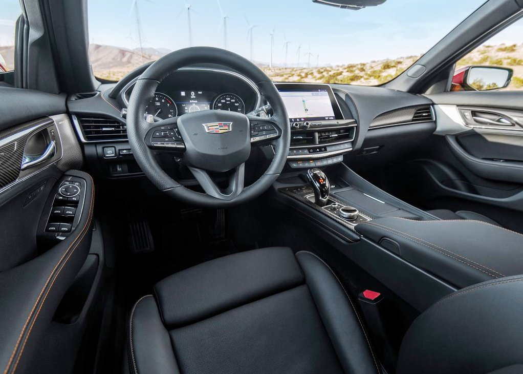 2022 Cadillac CT5-V Blackwing Interior