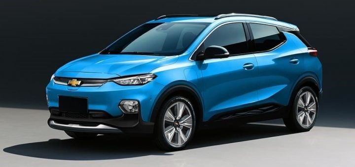 2022 Chevy Bolt EUV Rendering