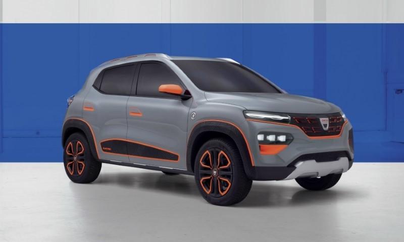 2022 Dacia Urban City Car Exterior Pictures