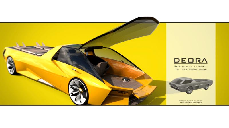 2022 Dodge Deora Concept