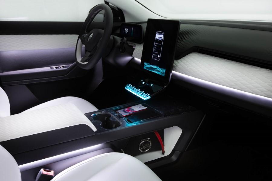 2022 Fisker Ocean SUV Interior