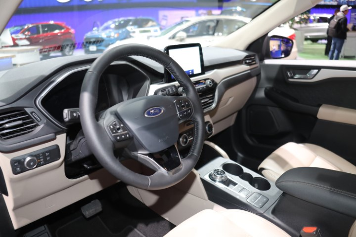 2022 Ford Courier Interior Based on Escape