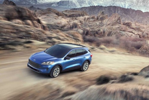 2022 Ford Escape Off-Road Capacbilities