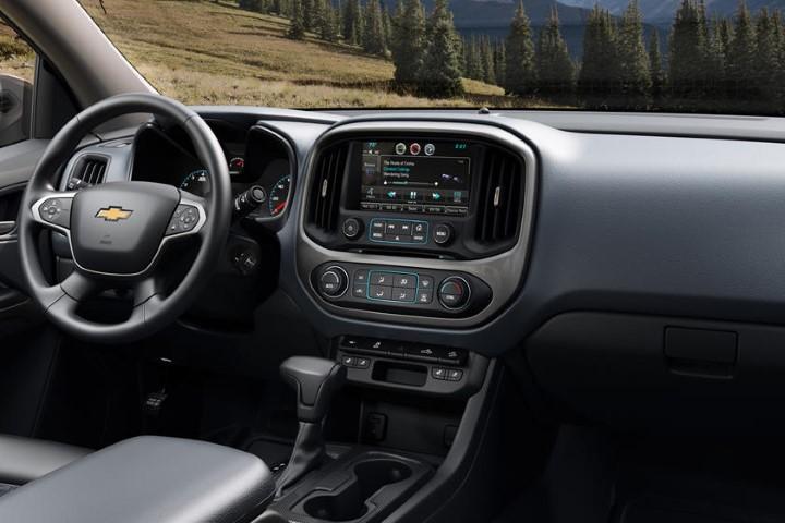 2023 Chevy Colorado Interior Dashboard