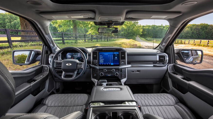 2022 Ford F-150 Electric Interior