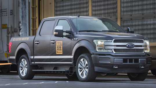 2022 Ford F-150 Electric Pickup Truck