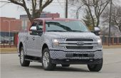 2022 Ford F-150 Electric Spied Images