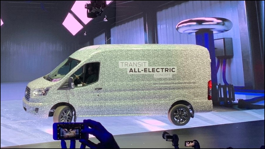 2022 Ford Transit Electric Van Price