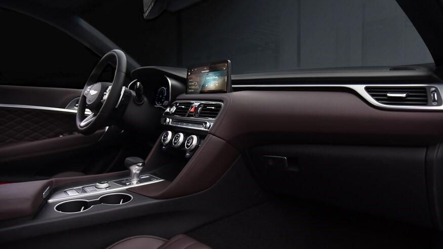 2022 Genesis G70 Interior Dashboard