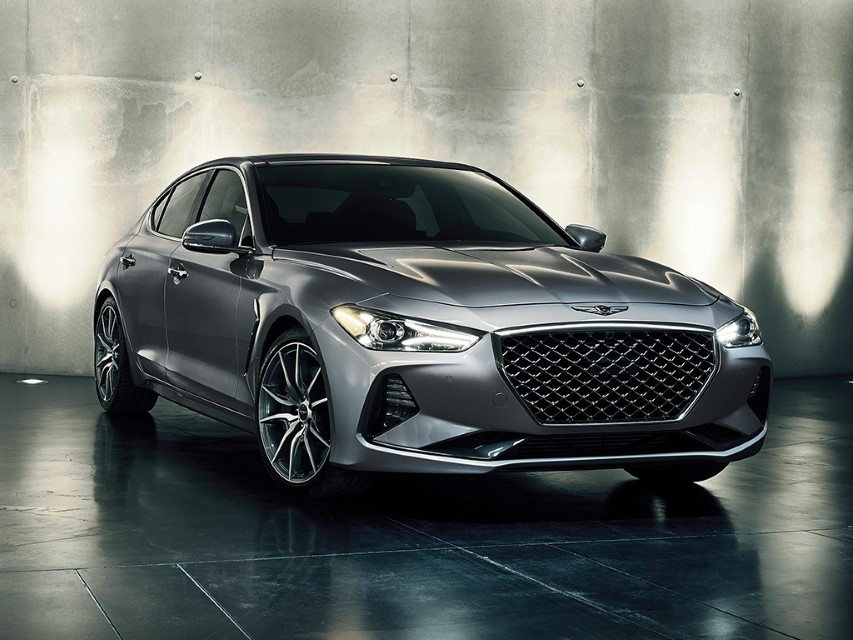 2022 Genesis G70 Redesign Front End with New Grille