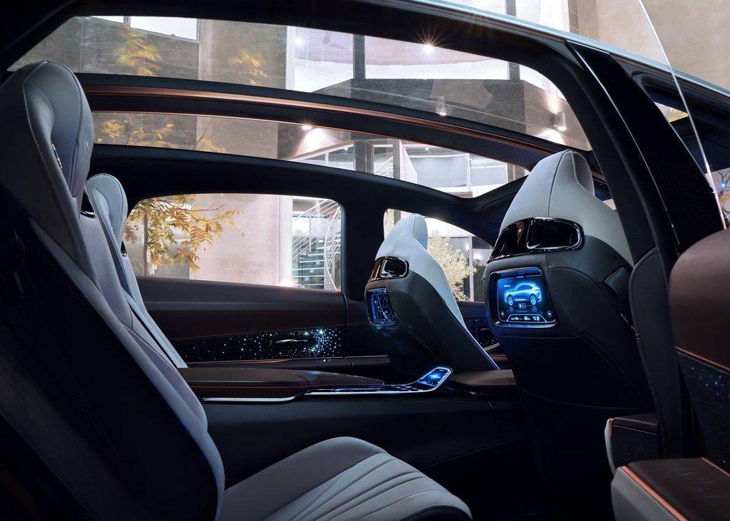 2022 Lexus LQ Interior Capacity