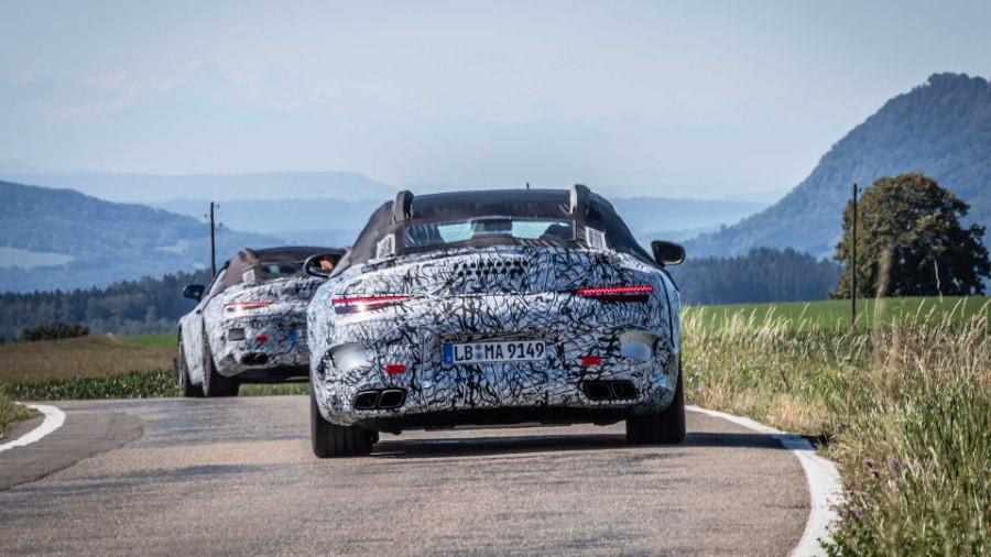 2022 Mercedes-Benz SL Specs