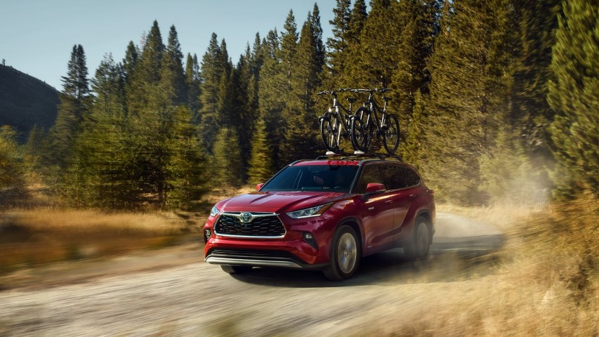 2022 Toyota Highlander Off-Road Capability