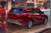 2022 Toyota Highlander Platinum Ruby RED Color