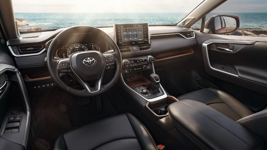 2022 Toyota RAV4 Hybrid Interior Dashboard