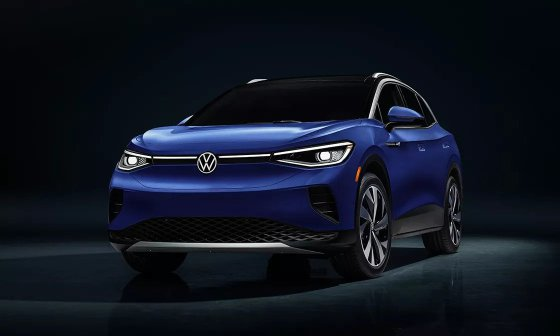 2022 VW ID.4 Exterior Look - Front End With Long DRL