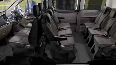 New Ford Tourneo Custom Interior Passenger Capacity