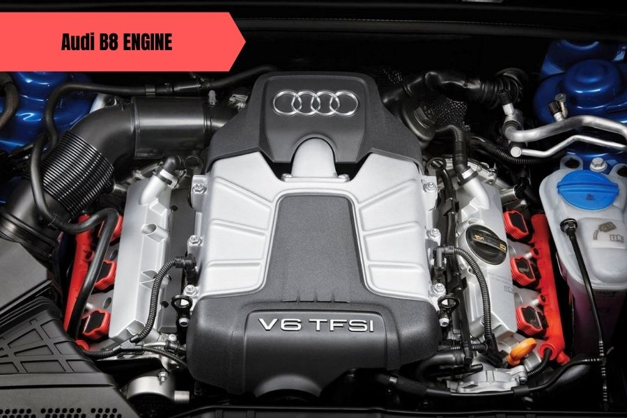 Audi B8 Engine Pictures