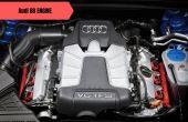 Audi B8 Engine Pictures