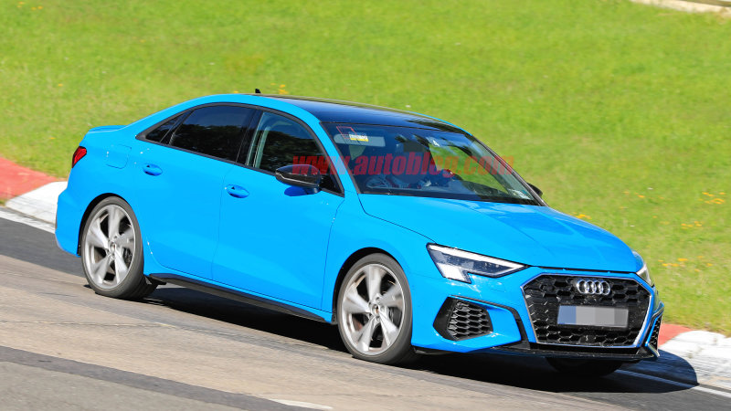 Here's the 2021 Audi S3 making its visual debut on the ...
