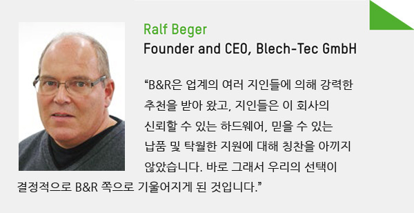 Ralf Beger - Founder and CEO, Blech-Tec GmbH