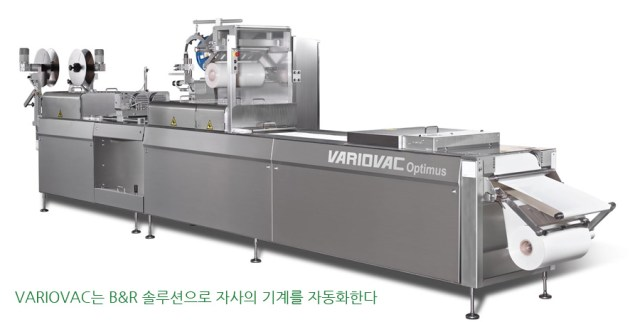 VARIOVAC automates its machines with a B&R solution.