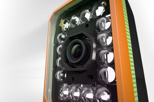 B&R 카메라는 통합형 조명과도 함께 사용할 수 있다.