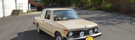 1974 BMW 2002 : Restoration Completed
