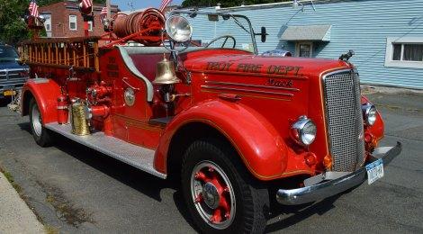 1947 Mack Fire Truck