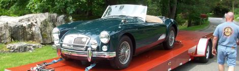 "1961 MGA 1600 ""Freshened up"" for a customer"