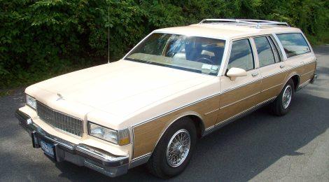 SOLD 1988 Chevrolet Caprice Estate Wagon