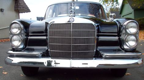 SOLD 1961 Mercedes 200Sb : Time Capsule