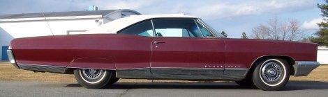SOLD 1966 Pontiac Bonneville Brougham