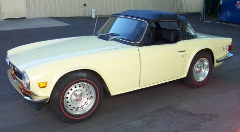 SOLD 1972 Triumph TR6