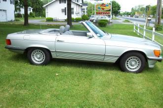 1985 Silver 380SL (1)