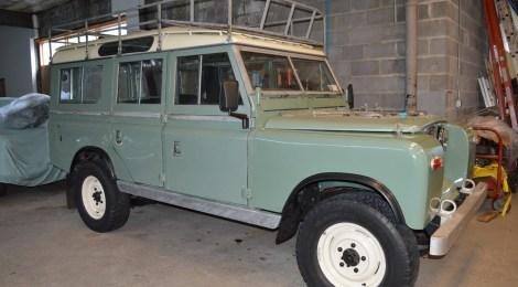 Land Rover Series III : Turbo Diesel / 5-speed swap