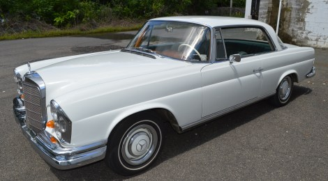 1966 Mercedes 250SE Coupe : 1 owner