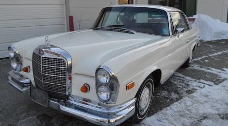 1969 Mercedes 280SE Coupe