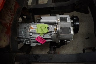NV3550 Transmission Permanently Mounted