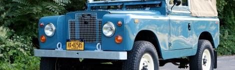 1969 Land Rover Restomod